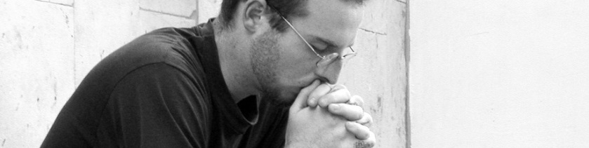 man praying_black&white_cropped